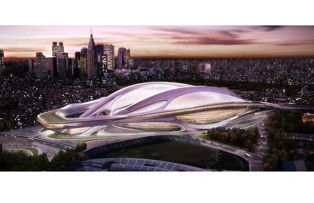 東京オリンピック会場予定の建物