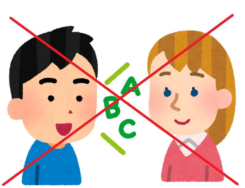 生徒をしゃべれなくする日本教育