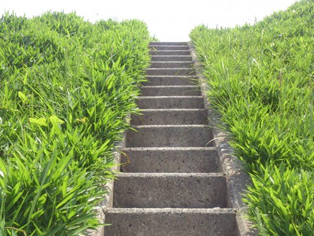 階段の近道