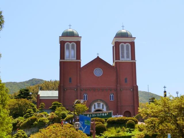 長崎の原爆ドーム(になるはずだった建物)